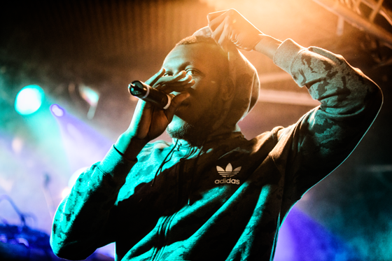 Stormzy at Eurosonic Noorderslag 2016. Photo: Bart Heemskerk